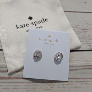 Kate Spade Infinity & Beyond Knot Stud Earrings
